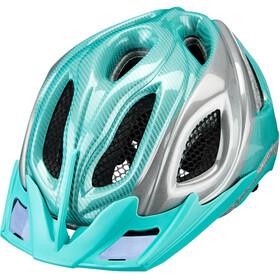 KED Certus K-Star Helm türkis/silber